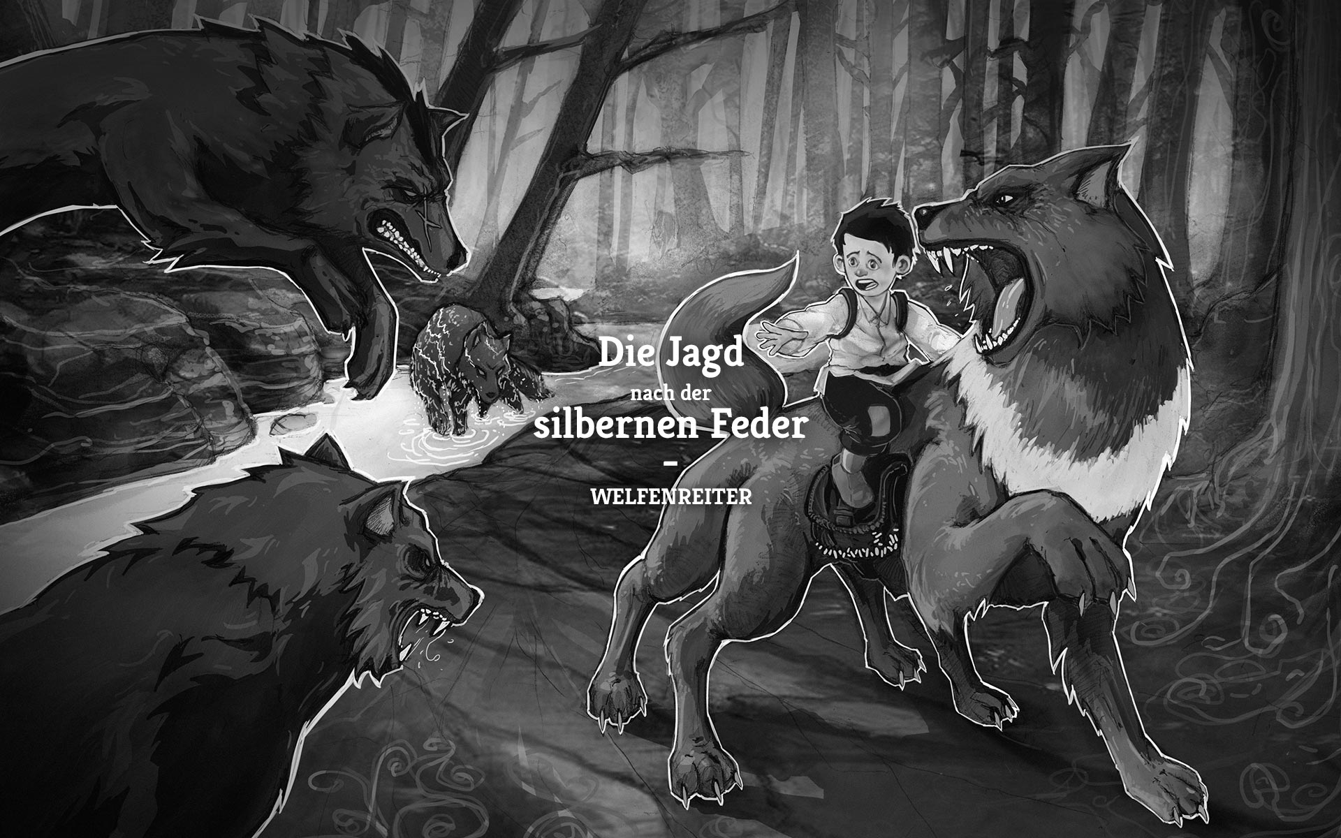 Welfenreiter Book Illustration